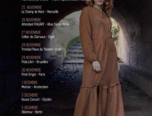 Ylenia Lucisano chiude domani a Francoforte il suo tour europeo