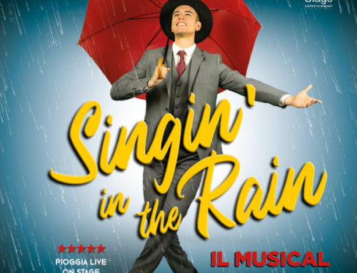 400 litri di pioggia al Teatro Nazionale per 'Singin' in the Rain' di Chiara Noschese
