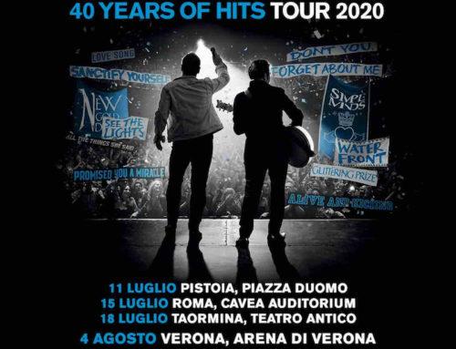 I Simple Minds festeggiano i 40 anni di carriera con un tour mondiale e quattro tappe italiane