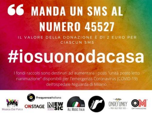 #iosuonodacasa, il calendario del 7 aprile