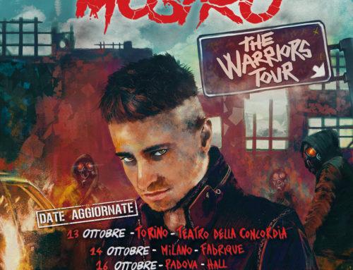 Coronavirus, spostato ad ottobre 'The Warriors Tour' di Mostro
