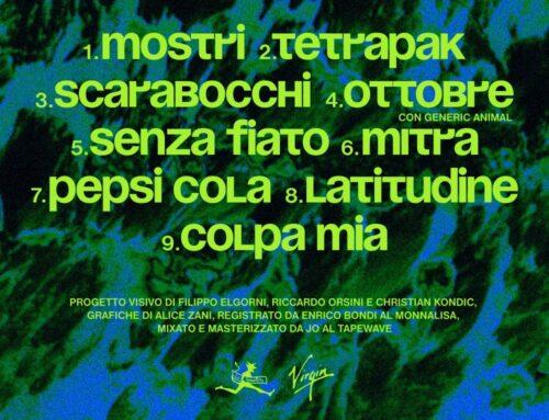 Nicolaj Serjotti' con nove tracce descrive la sua 'Milano 7' nel suo disco d'esordio