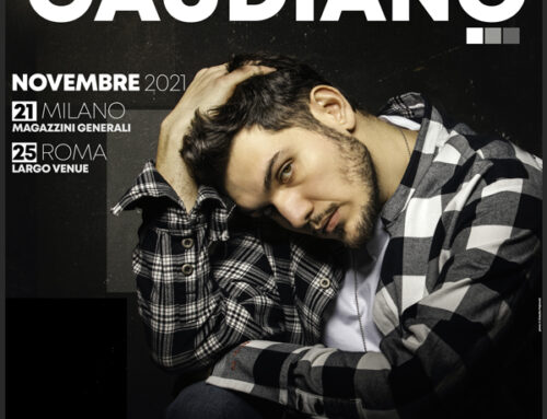 Gaudiano in concerto a Milano e Roma a novembre