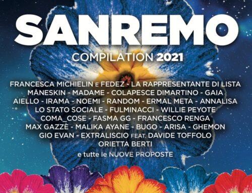 Da domani disponibile 'Sanremo 2021' compilation del festival con i 26 big e le 8 Nuove Proposte in gara