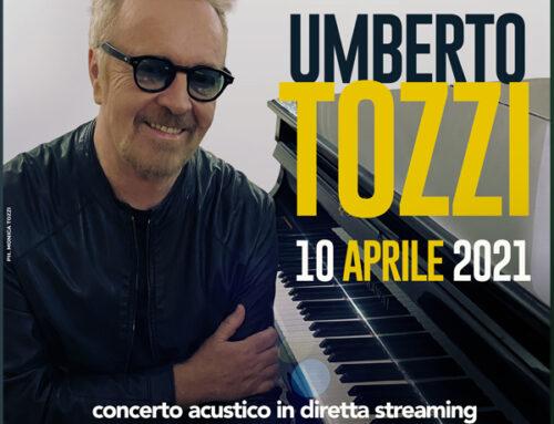Umberto Tozzi torna live il 10 aprile da Montecarlo e questa sera all'Ariston di Sanremo