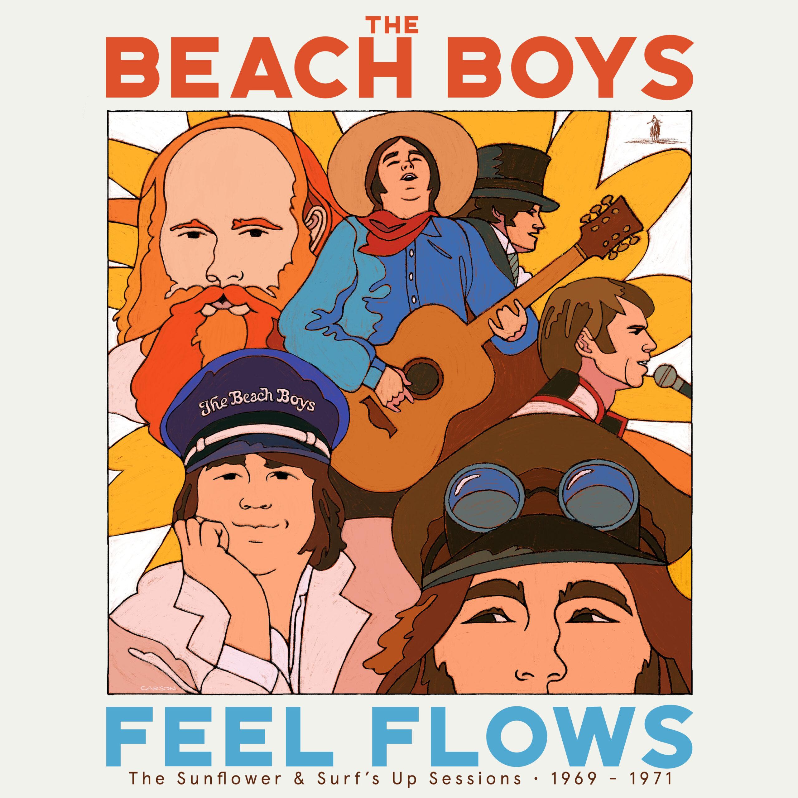 I Beach Boys pubblicano un cofanetto con le nuove versioni di 'Sunflower' e 'Surf's Up' – Il Mohicano