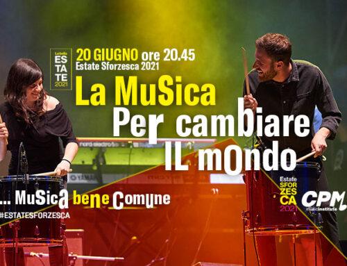 Gli studenti del CPM di Franco Mussida in concerto al Castello Sforzesco di Milano