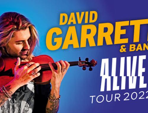 David Garrett in tour in Italia con sei concerti, il via da Milano l'8 luglio 2022