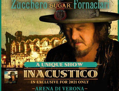 Il 24 e 25 settembre Zucchero festeggerà il suo compleanno all'Arena di Verona con l'ultimo album 'Inacustico D.O.C. & More'