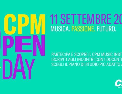 Sabato 11 settembre Open Day al CPM Music Institute di Franco Mussida