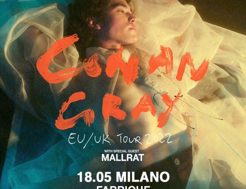 Conan Gray al Fabrique di Milano il prossimo 18 maggio