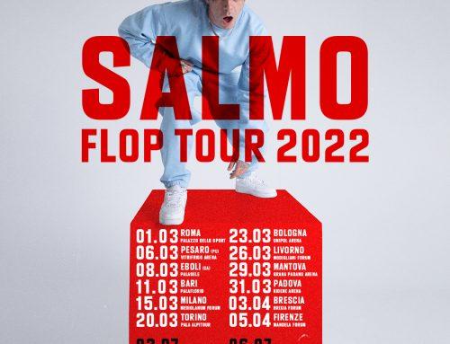 A marzo Salmo parte per il suo Flop Tour, dodici tappe da Torino a Eboli